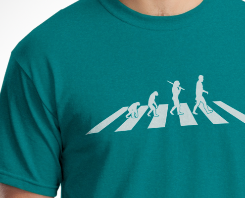Apey Road (Abbey Road Evolution) T-Shirt Design
